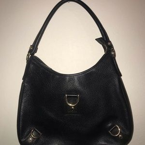 Gucci Leather Hobo Black Leather HandBag